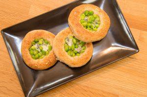 枝豆のガレット パンレシピ